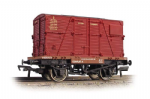 37-951D Bachmann Branchline (4) Conflat With BD Container BR Crimson
